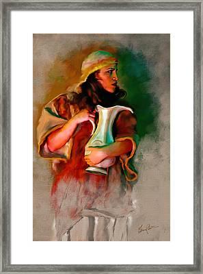 Raquel Framed Print