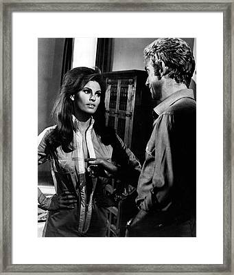 Raquel Welch Framed Print