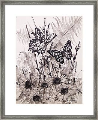 Rare Beauty Framed Print