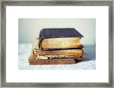 Rare Books Framed Print by Jessica Jenney