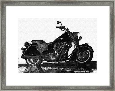 Rare Breed Framed Print by Wayne Bonney