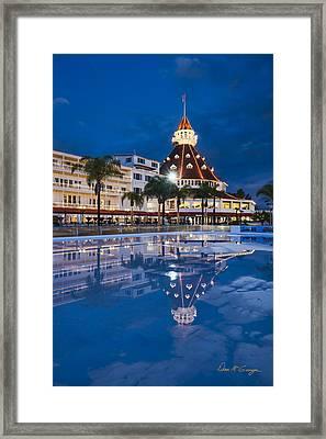 Rare Reflection Framed Print