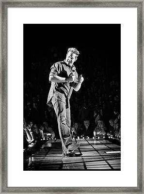 Rascal Flatts 5030 Framed Print by Timothy Bischoff