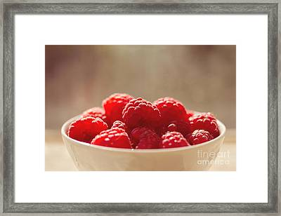 Raspberries  Framed Print