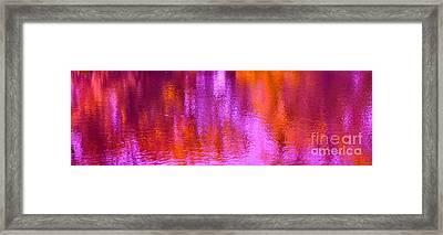 Raspberry Beret Framed Print