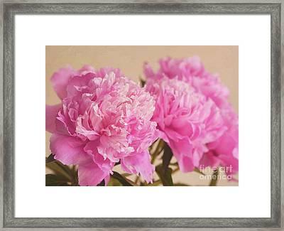 Raspberry Sundae Framed Print