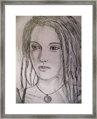 Rasta Divine Framed Print by Agata Suchocka-Wachowska