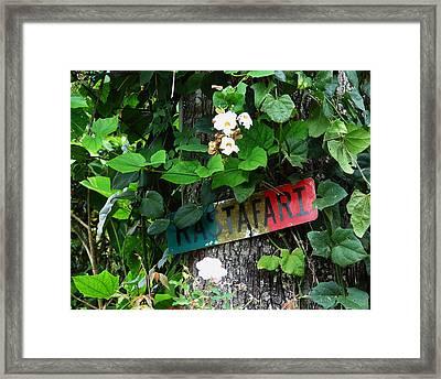 Rastafari Framed Print by K Walker