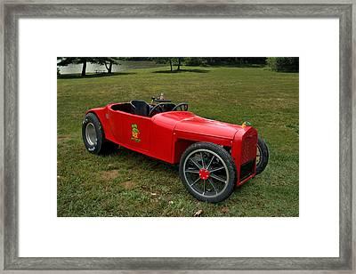 Rat Fink 1923 Ford Model T Roadster Framed Print by Tim McCullough
