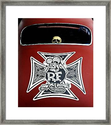 Rat Fink Big Daddy Roth Framed Print