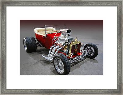 Rat Fink Bucket Too Framed Print by Bill Dutting