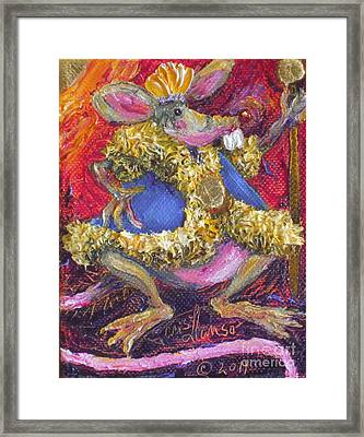 Rat King Framed Print by Paris Wyatt Llanso
