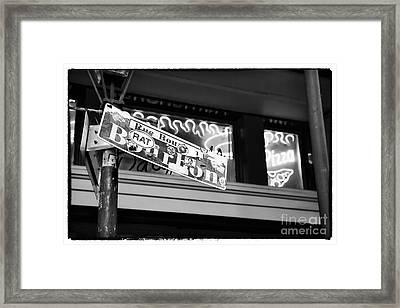 Rat On Bourbon Framed Print by John Rizzuto