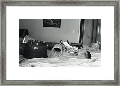 Rat Play Framed Print