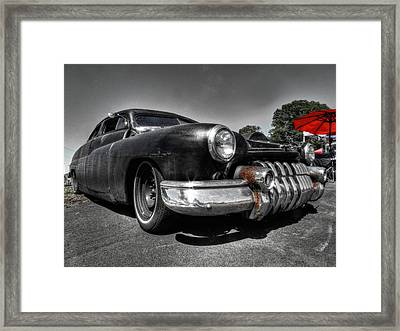 Rat Rod - '51 Mercury 001 Framed Print by Lance Vaughn