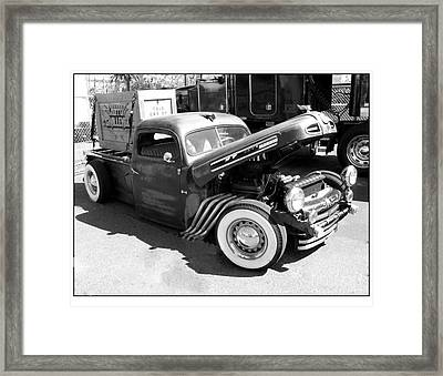 Rat Rod Hot Rod Framed Print by Kip Krause