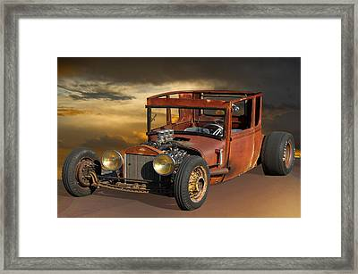 Rat Rod Royal - T Framed Print