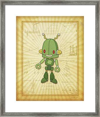 Ratchet Framed Print