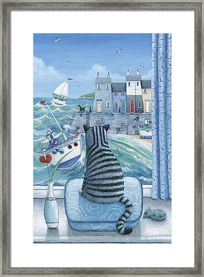 Rather Mew Framed Print by Peter Adderley