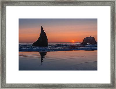 Rather Pointed Framed Print