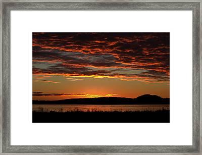 Rathtrevor Sunrise Framed Print