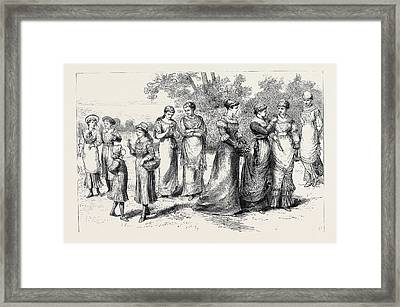 Rational Dress For Ladies Framed Print