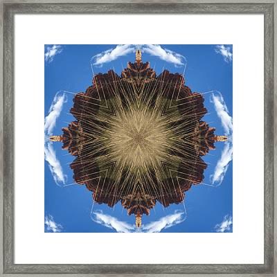 Framed Print featuring the digital art Rattler by Trina Stephenson
