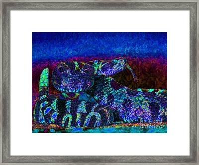 Rattlesnake 20130204m180 Framed Print