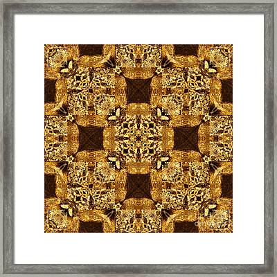 Rattlesnake Abstract 20130204p0 Framed Print by Wingsdomain Art and Photography