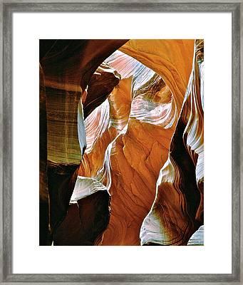 Rattlesnake Canyon Framed Print by Ed  Riche