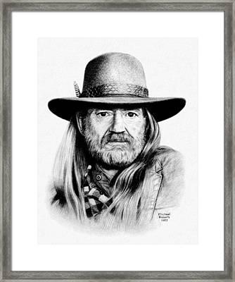 Rattlesnake Willie Framed Print by Mike Roberts