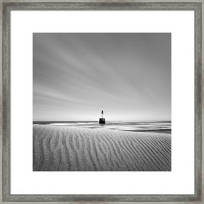 Rattray Head Lighthouse 1 Framed Print by Dave Bowman