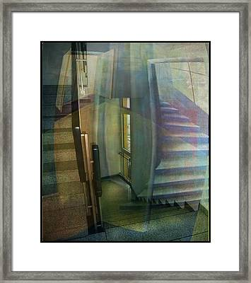 Raumirritation 35 Framed Print by Gertrude Scheffler
