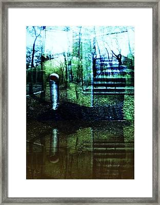 Raumland 01 Framed Print by Gertrude Scheffler