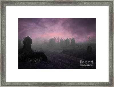 Framed Print featuring the photograph Rave In The Grave by Terri Waters