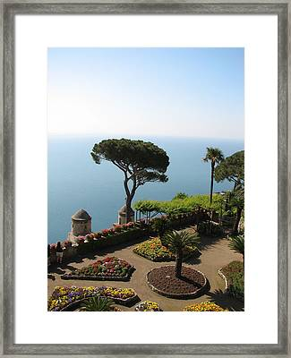 Ravello Framed Print by Carla Parris