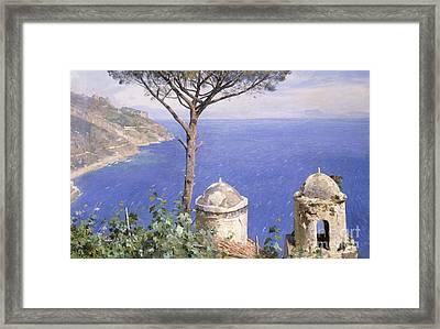 Ravello Framed Print by Peder Monsted