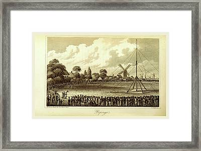 Ravels In Norway, Sweden, Denmark, Papingo Framed Print by Litz Collection