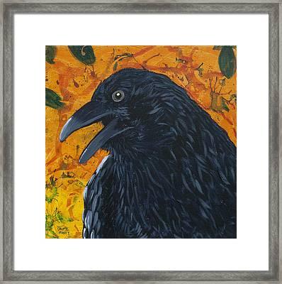 Raven Festival Framed Print