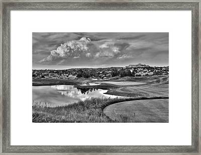 Ravenna IIi Black And White Framed Print