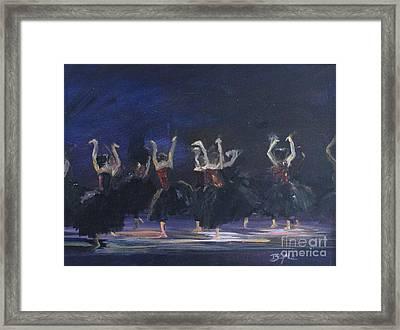 Ravens Framed Print by Blythe Quinn