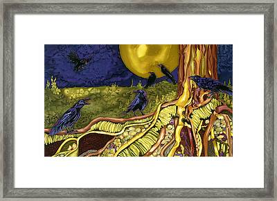 Raven's Cache Framed Print