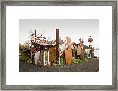 Ravens House Framed Print by Ashley Cooper