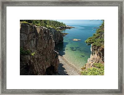 Framed Print featuring the photograph Ravens Nest by Bernard Chen