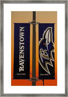 Ravenstown Framed Print by David Simons