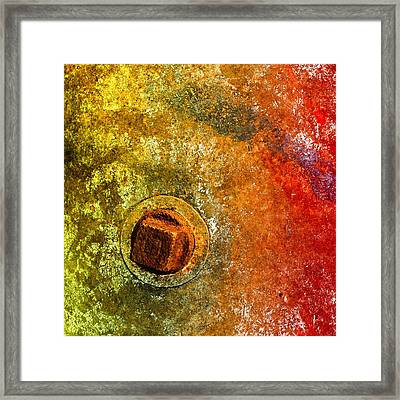 Raw 3 Framed Print by Tom Druin
