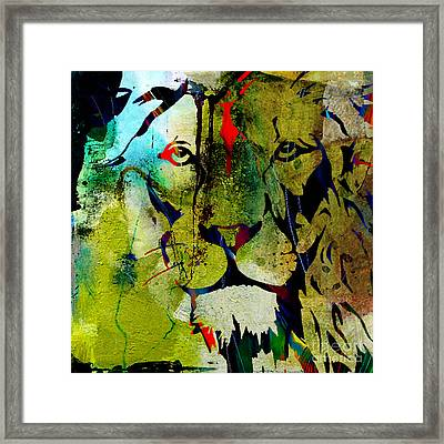 Raw Beauty And Power Framed Print by Marvin Blaine