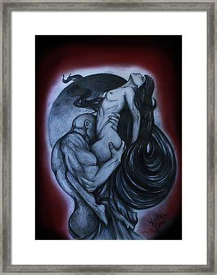 Raw Passion Framed Print by Katie Osmond