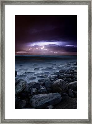 Raw Power Framed Print by Jorge Maia