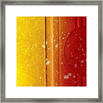 Raw Steel 1 Framed Print by Tom Druin
